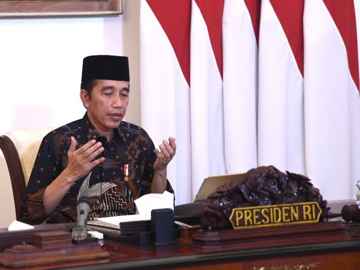 Presiden Tinjau Proses Pembagian Bantuan Sosial Tunai
