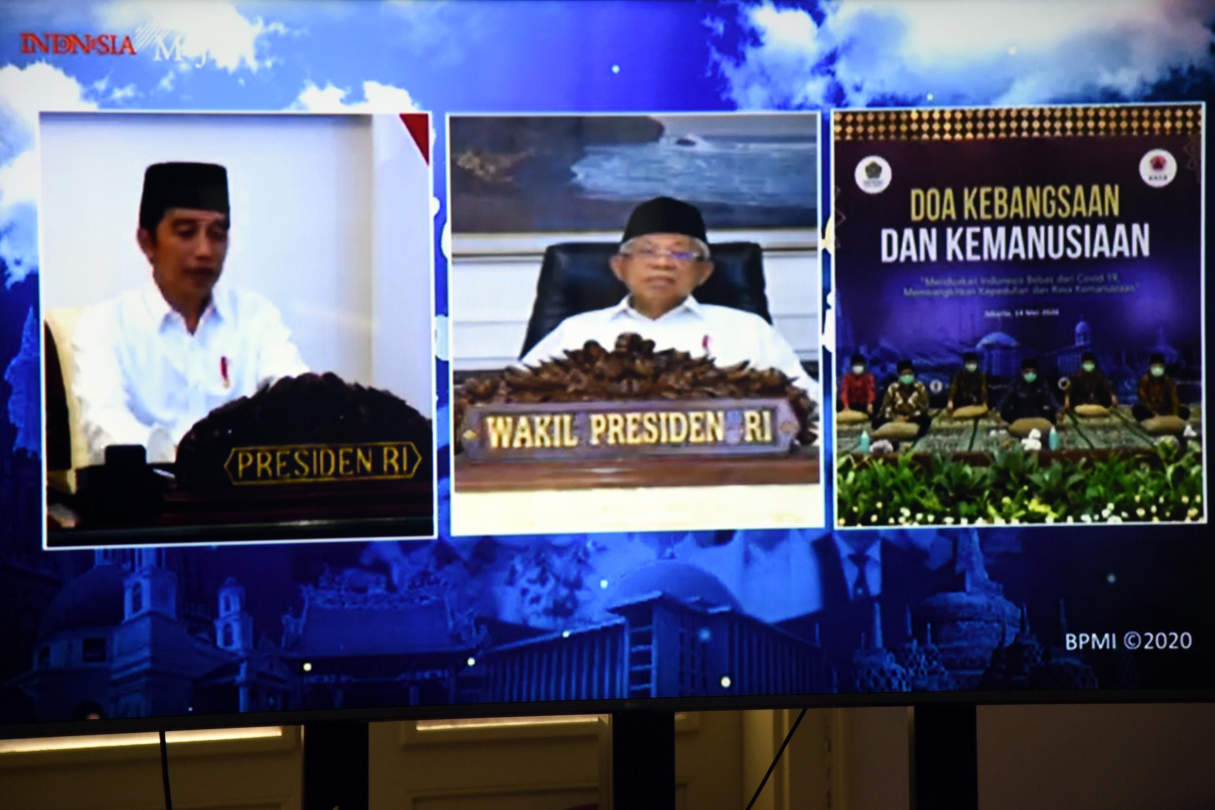 Presiden: Dalam Hadapi Kesulitan, Tidak Boleh Pesimis dan Semua Wajib Ikhtiar