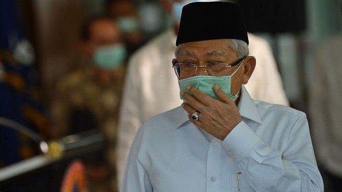 Hari Raya Idul Fitri, Wakil Presiden Ma'ruf Amin Minta Masyarakat Tetap Optimis Lawan Covid-19