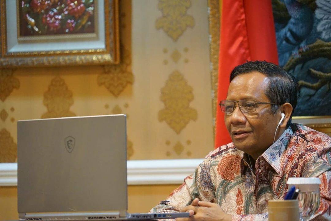 Mahfud MD Tegaskan Pemerintah Bersungguh-sungguh Tangani Covid-19, Tunda RUU HIP Dijadikan Bukti