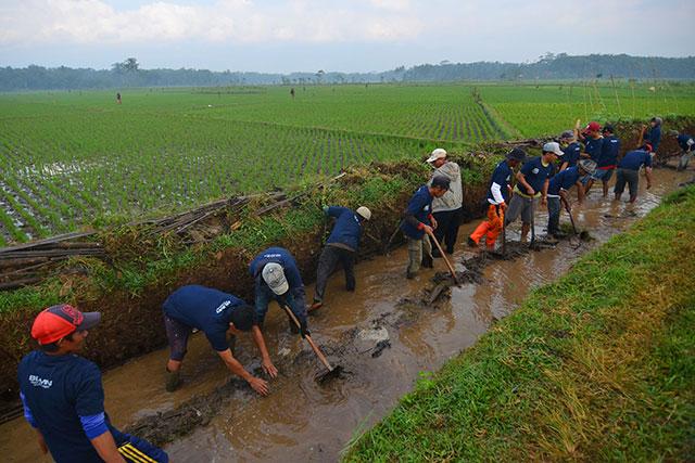 Pemerintah Kucurkan Rp18,44 Triliun untuk Program Padat Karya