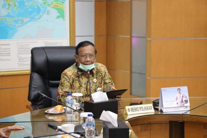 Mahfud MD Sebut Presiden Jokowi Belum Bahas RUU HIP