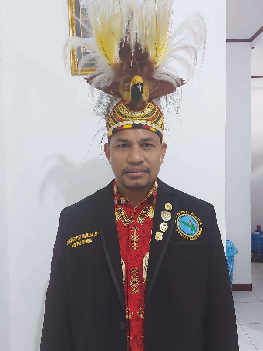 Ketua Pemuda Papua Yan Christian Arebo Ajak Masyarakat Untuk Selalu Menjaga Kamtibmas dan Tidak Terpengaruh Dengan Isu Yang Ada