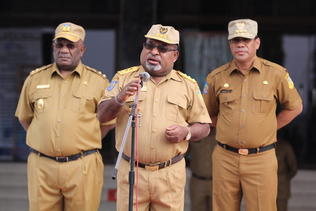 Pemprov Papua Salurkan Bantuan Paket Sembako Untuk Kota Dan Kabupaten Jayapura