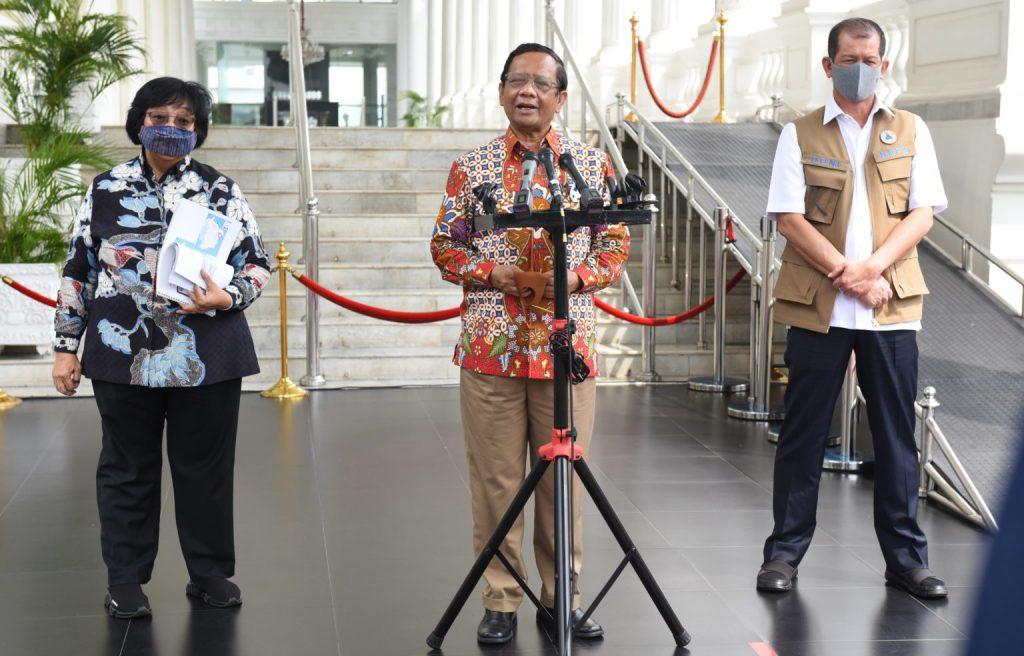 Pemerintah Siapkan Langkah Mitigasi dan Tindak Lanjut Penanganan Karhutla
