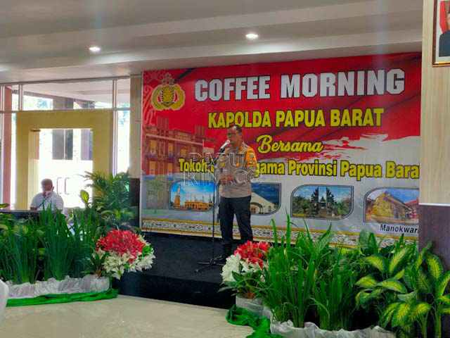 Bertemu Tokoh Agama, Kapolda Papua Minta Dukungan Atasi Covid-19 dan Rasisme