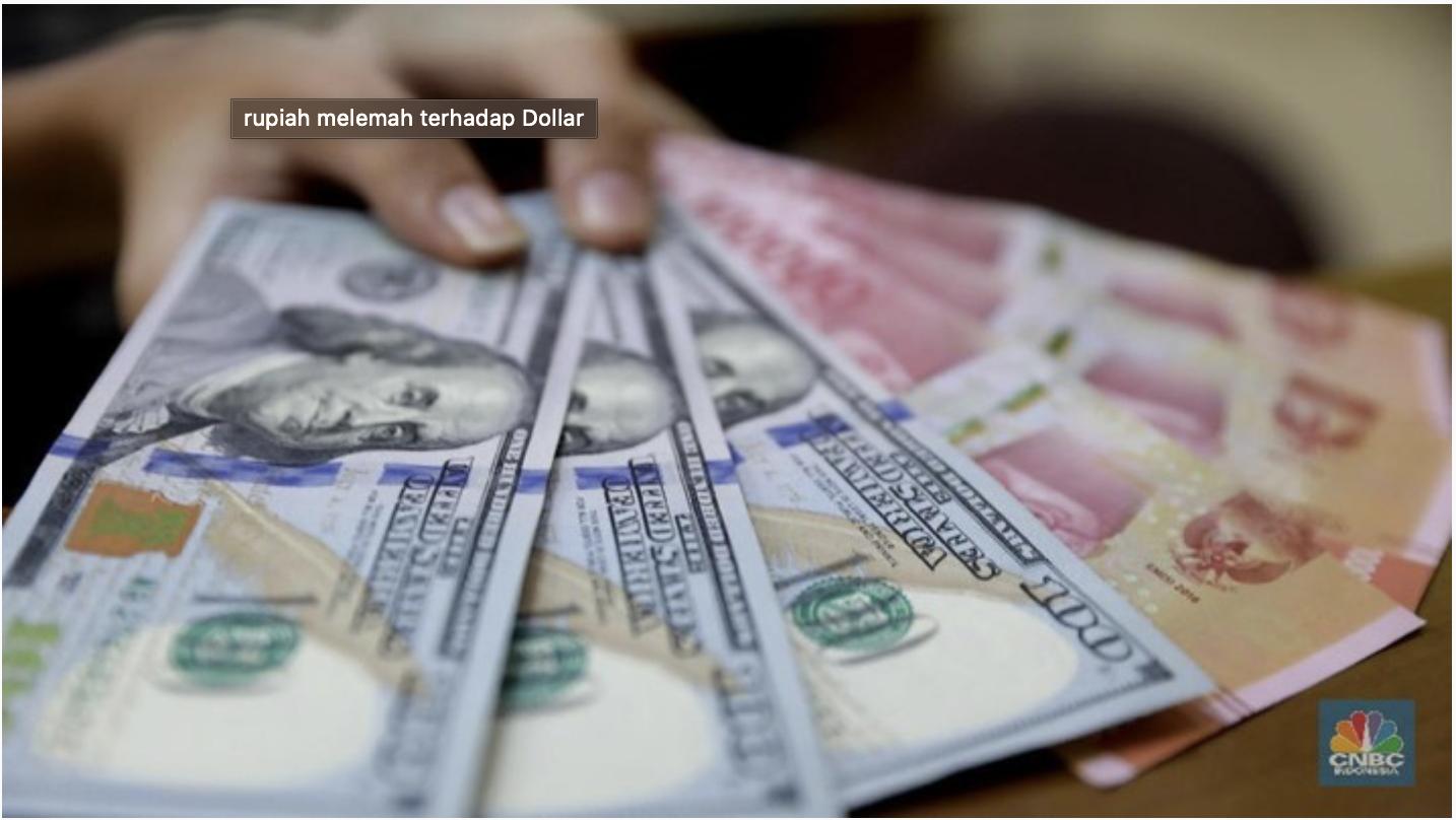 Makin Kuat Sinyal Rupiah Bakal ke Bawah Rp 14.000/US$