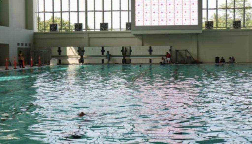 Siap Difungsikan, Arena Aquatic Papua Termegah se-Indonesia