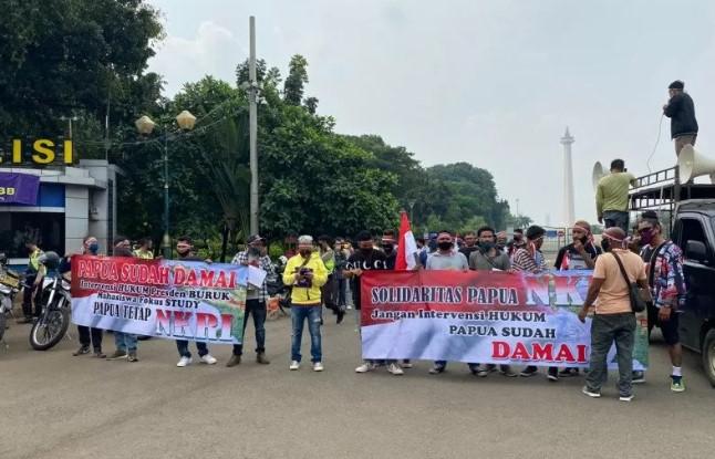 Mahasiswa Papua serukan cinta NKRI dan patuhi hukum