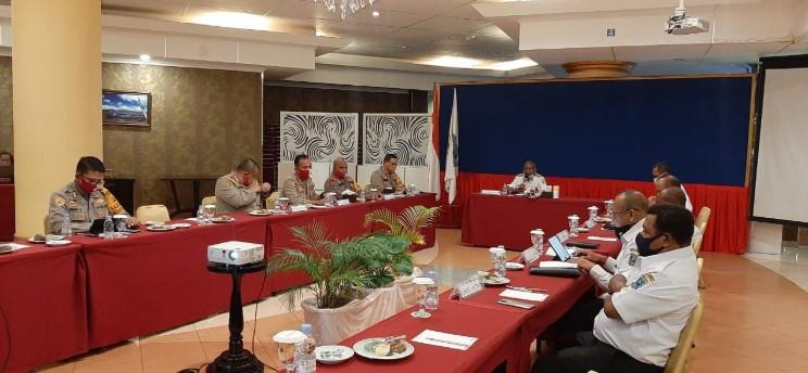Kapolda Paparkan Rencana Pembangunan SPN, Gubernur Dukung Penuh