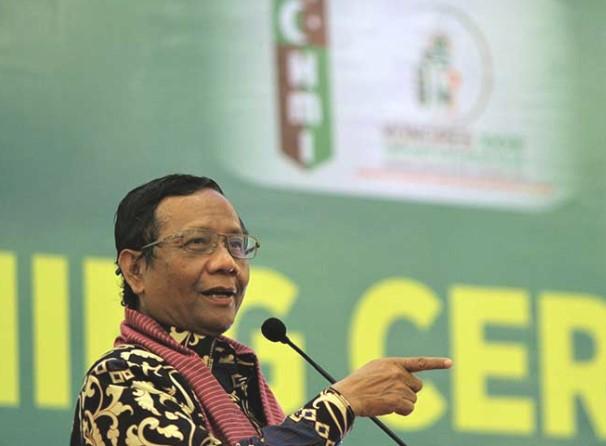 Mahfud MD Terima Masukan Ulama Madura Terkait RUU HIP