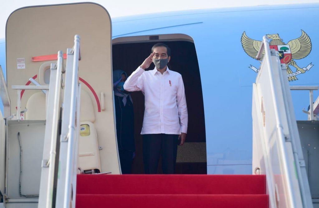 Kunker ke Jateng, Presiden Tinjau Posko Penanganan Covid-19 hingga Proyek Padat Karya