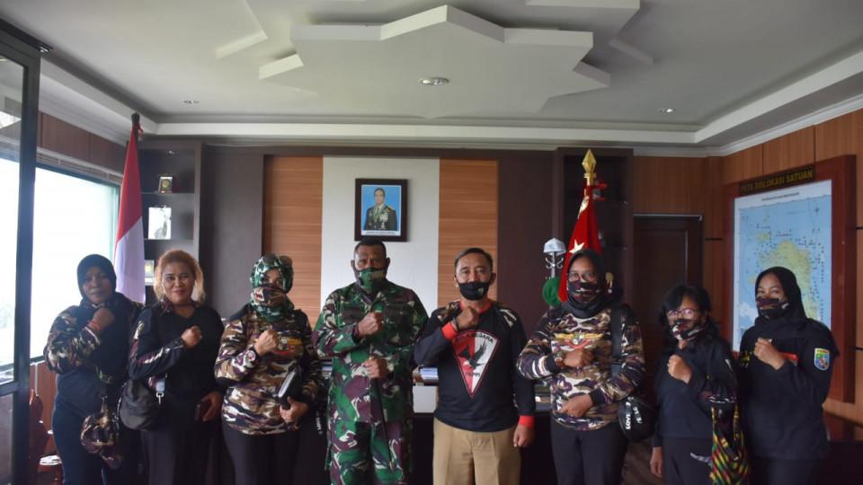 Pangdam Kasuari Ajak FKPPI Papua Barat Dukung Sosialisasi New Normal