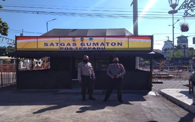 Ratusan Personel Dikerahkan Menjaga Malioboro Hingga Kraton Jogja