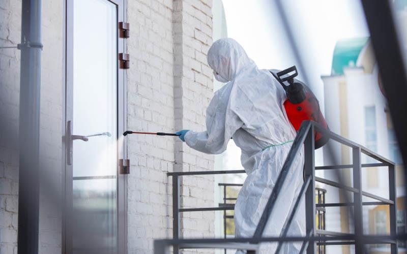 Cegah Klaster Baru, Penyemprotan Disinfektan di Pasar Ditingkatkan