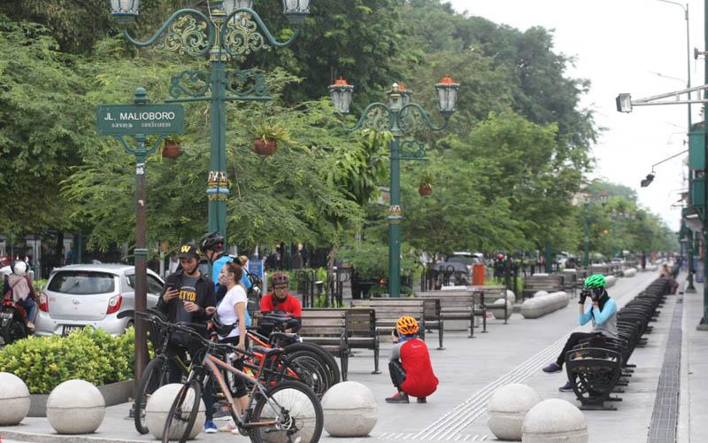 Malam Minggu Malioboro Dijaga Aparat 24 Jam, Pesepeda Dilarang Berhenti