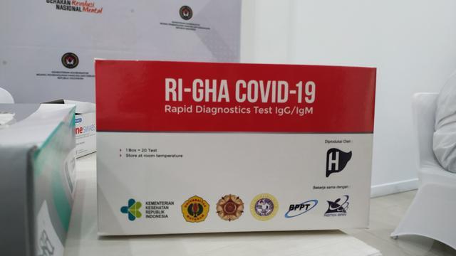 Harga Alat Rapid Test Covid-19 Buatan Indonesia, Hasil Keluar 15 Menit