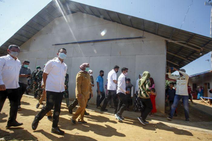 Mensos Realisasikan Janji Presiden untuk Korban Longsor Bogor
