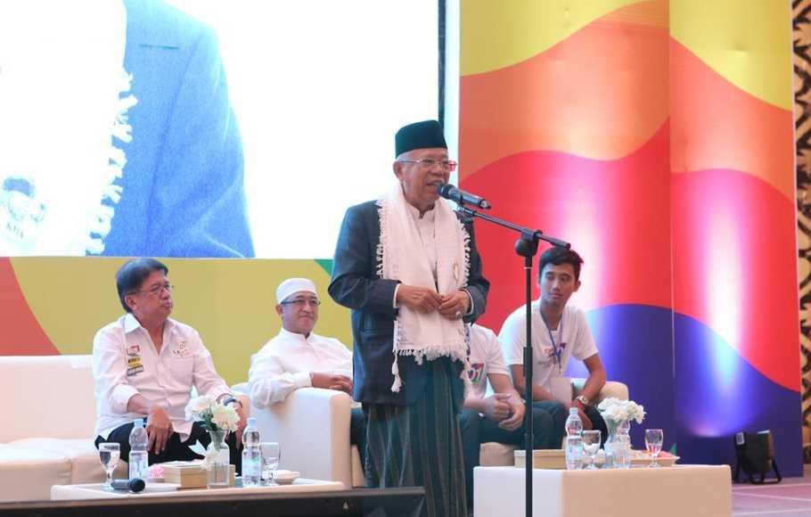 Soal Larangan Paham Khilafah di Indonesia, Ini Penjelasan Ma'ruf Amin