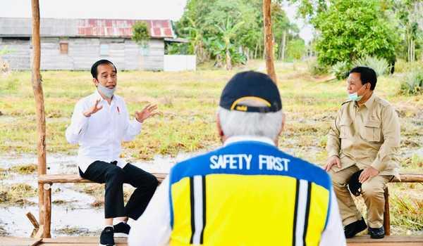 Presiden: Lumbung Pangan Baru untuk Antisipasi Krisis Pangan