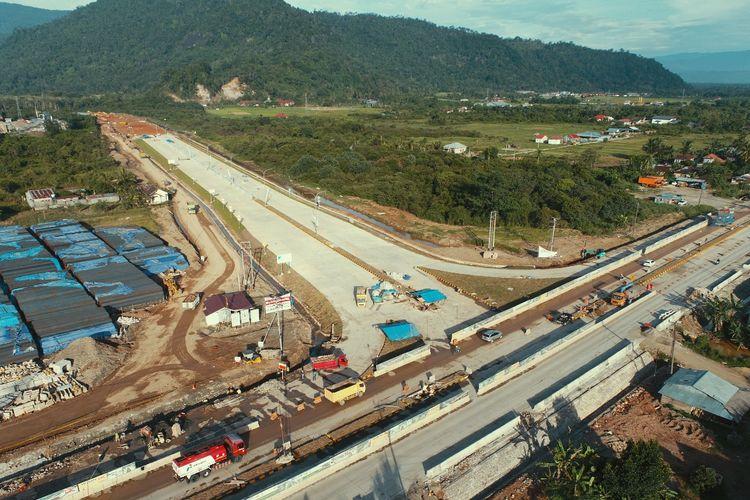 Progres Fisik Capai 20,49%, Tol Padang – Sicincin Ditargetkan Beroperasi Desember 2021