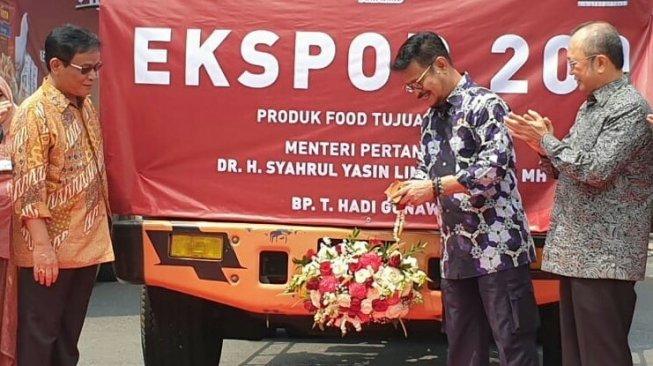 Mentan SYL Ajak Petani, Penyuluh Dukung Ekspor