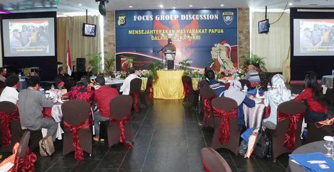 FGD : Mensejahterakan Masyarakat Papua Dalam Bingkai NKRI