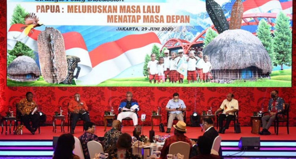 Presiden Joko Widodo Berkomitmen Kuat Bangun Papua Secara Komprehensif