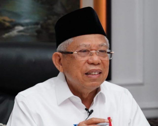 Ma'ruf Amin: Tak Boleh Bawa Paham Khilafah dalam Kehidupan Berbangsa di Indonesia