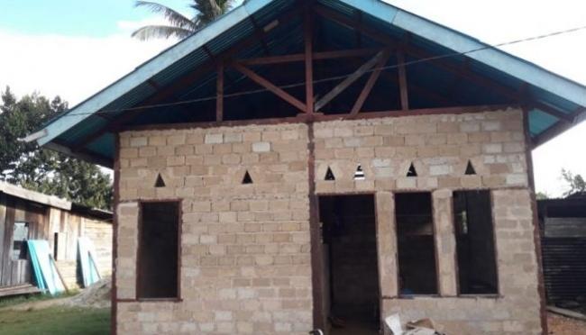 100 Rumah di Papua Barat Dapat Bantuan BSPS Masing-masing Rp 21 Juta