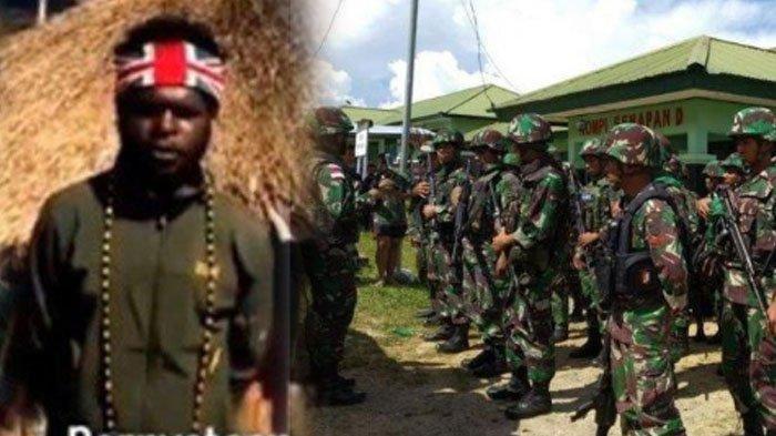 TNI Beri Peringatan Egianus Kogoya dkk: Jangan Ganggu