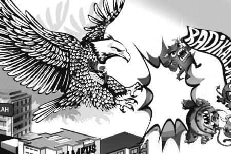 Penguatan Ideologi Pancasila Cegah Komunisme dan Khilafah