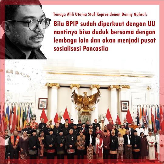 Istana Pastikan Pasal Kontroversi di RUU HIP Tak Ada di RUU BPIP