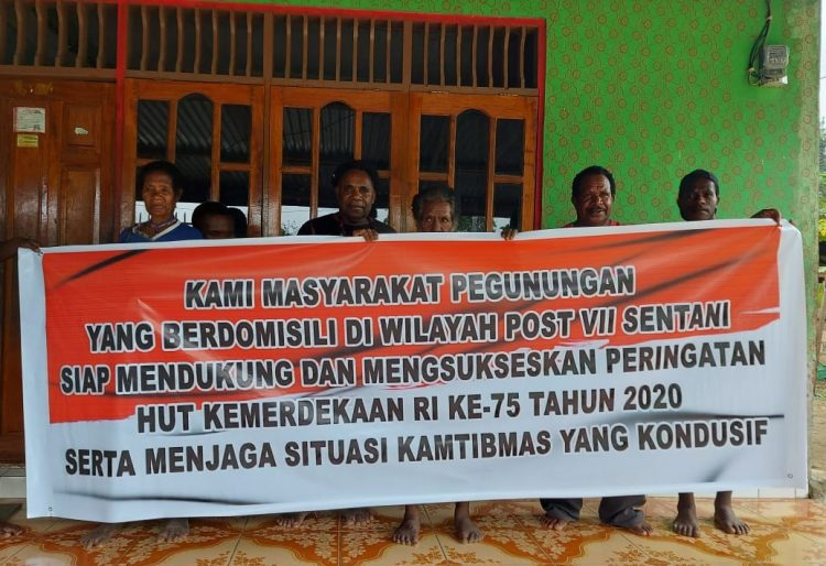Tokoh Masyarakat Adat Lapago Kabupaten Jayapura Tolak Aksi Demo