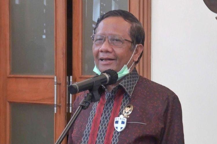 Mahfud dan 5 Menteri Sambangi DPR, Serahkan Surat Penundaan Pembahasan RUU HIP