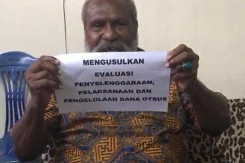 Jhon Gluba Gebze : Otsus Papua dievaluasi, Bukan ditolak