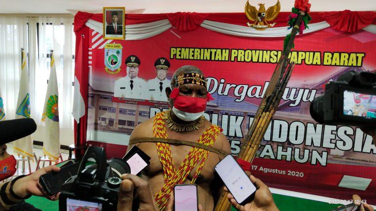 Gubernur Dominggus Ajak Semua Pihak Dukung Otsus, Agar Berlanjut ke Jilid II