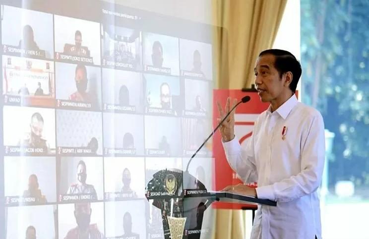 Jokowi : Beli produk lokal, tingkatkan pendapatan petani nelayan UMKM