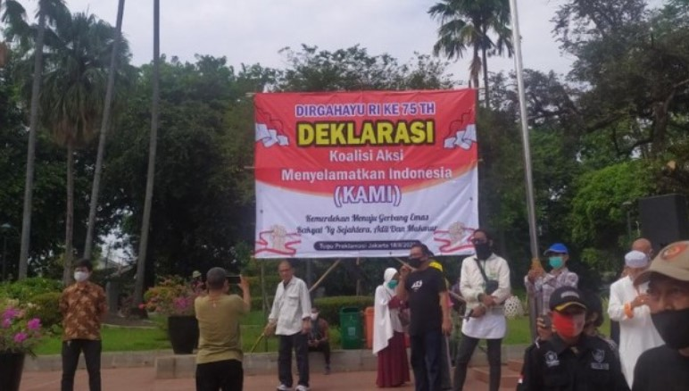 KAMI Perkeruh Situasi Politik Indonesia