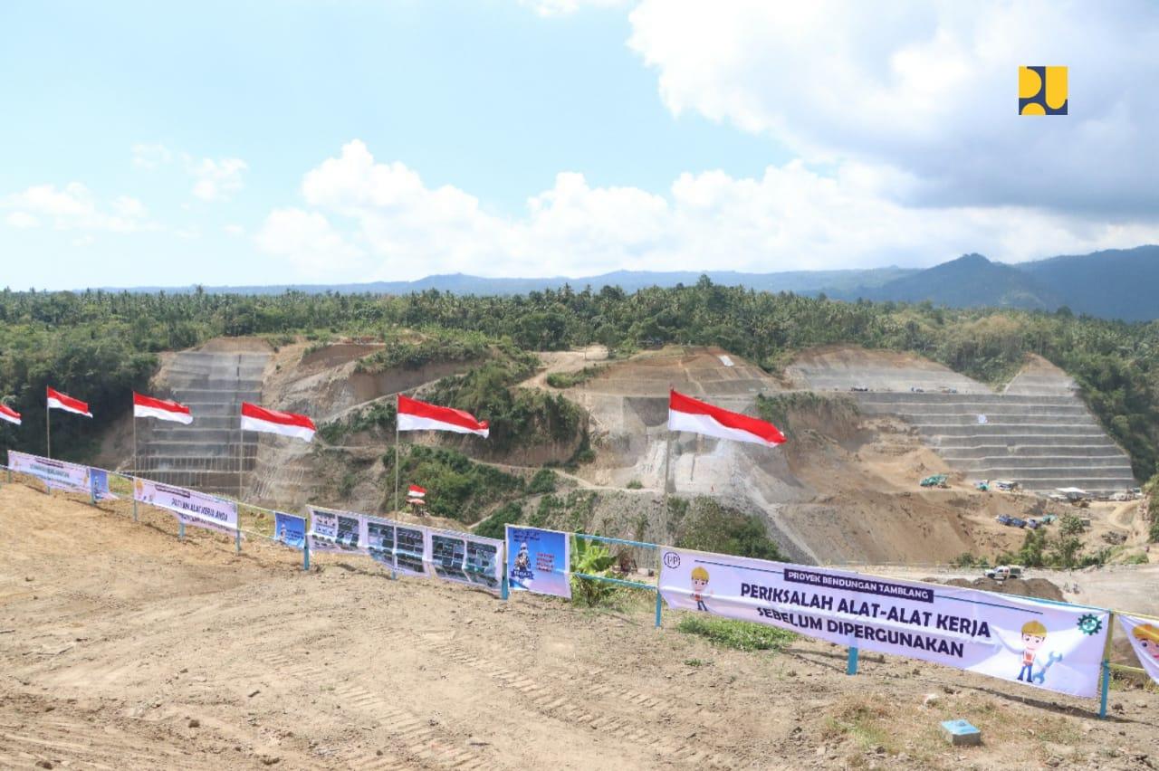 Pemerintah Mulai Bangun Bendungan Tamblang di Kabupaten Bulelang