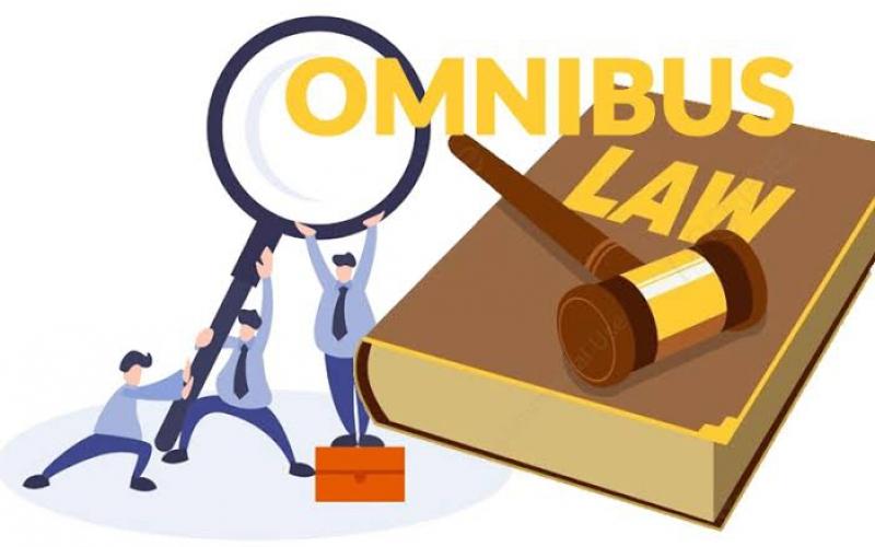 Omnibus Law RUU Cipta Kerja Percepat Pemulihan Ekonomi