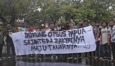 Mahasiswa Desak Pemerintah Berlakukan Otsus Jilid II di Papua