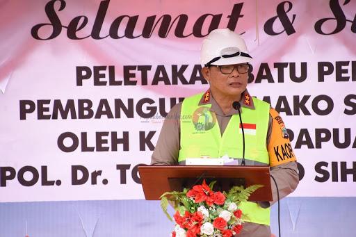 Kepala Suku Hattam-Moyle setujui pembangunan Mako Brimob Polda Papua Barat