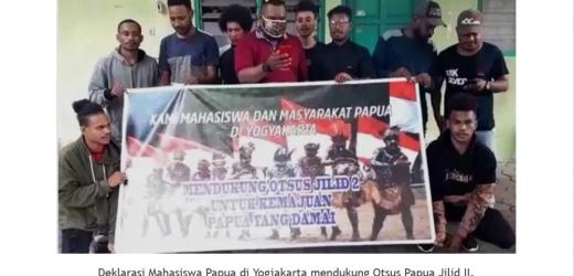 Tokoh Muda dan Mahasiswa Papua di Yogyakarta Menyatakan Mendukung Pemerintah Untuk Melanjutkan Otsus