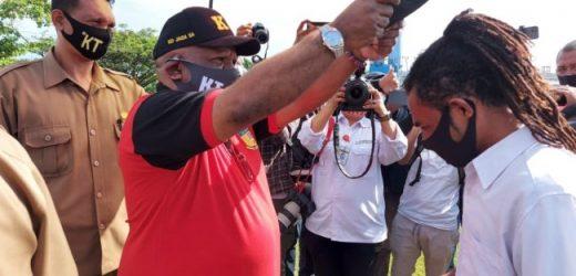 Pemerintah Papua Himpun 1400 Pemuda Lawan Corona di Kota Jayapura