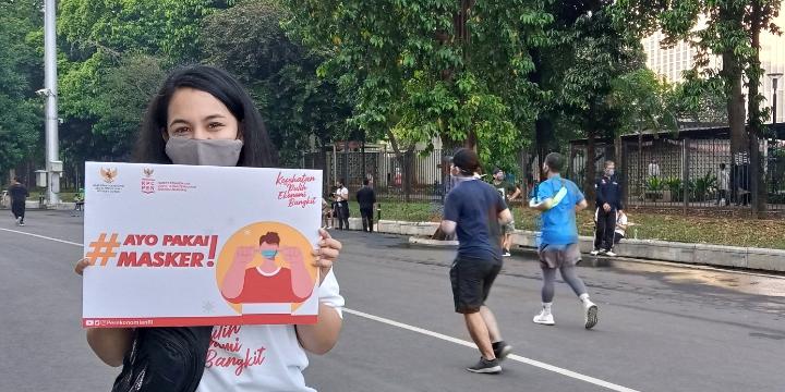Pemerintah Kampanyekan Penggunaan Masker Untuk Cegah Covid-19