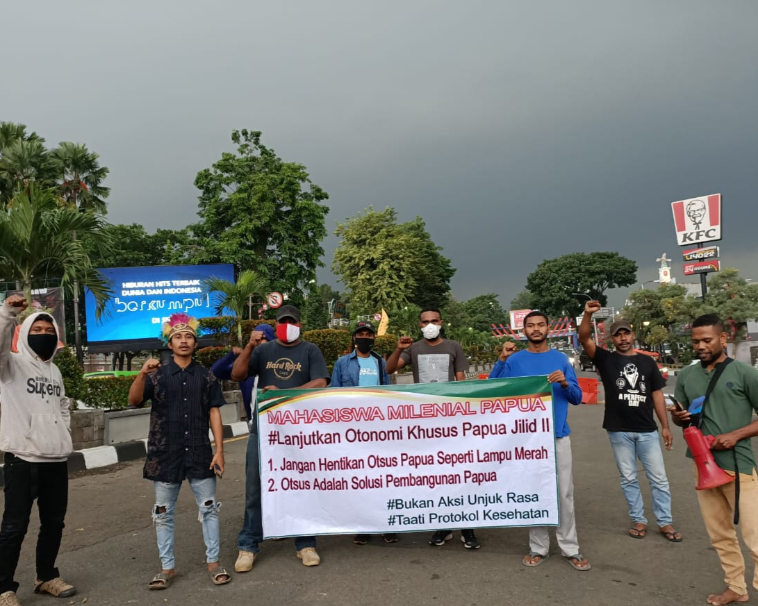 Mahasiswa Papua di Bogor Dukung Otsus Papua Jilid II