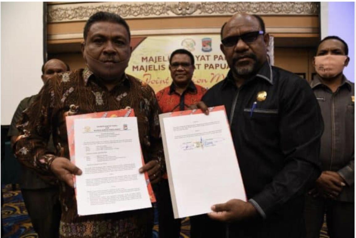 MRP: Kemendagri dan MPR for Papua mendukung rencana RDP evaluasi Otsus Papua