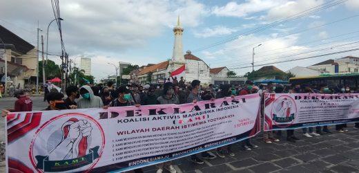 Koalisi Aktivis Mahasiswa Indonesia Bersama Pemerintah untuk Indonesia Maju