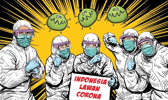 Optimisme Indonesia Bisa Bebas Corona Tanpa Vaksin